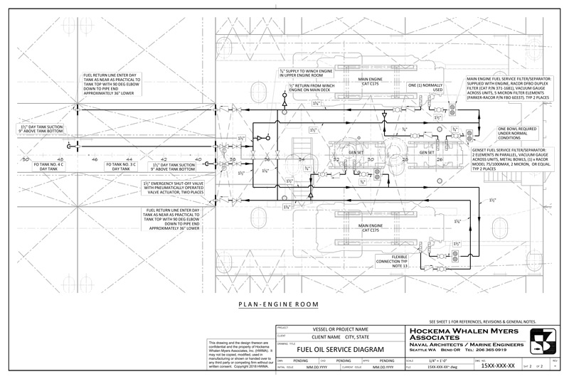 Marine Engineering – Hockema Whalen Myers Associates