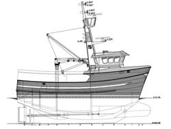 Fishing vessel under construction