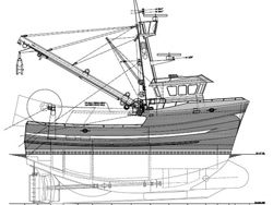 Fishing vessel concept design Fred Wahl Marine